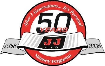JJs 50th Anniversay Logo