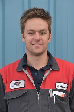Christoph Kalin - Service Manager Ashburton